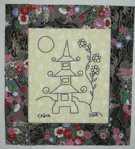 Chinese pagoda freebie sm2