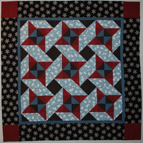 Snowman unquilted for free pattern