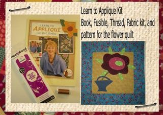 Learn to Applique kit for store