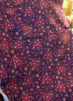 6 yd back purple nikki