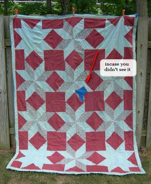 First quilt 7 sm