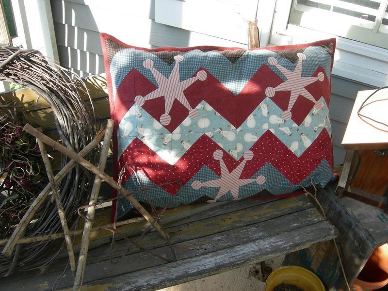 Pat Sloan: Free Snowflake Pillow Pattern! - Pat Sloan\'s Blog