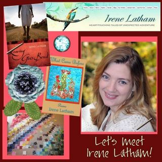 Irene Latham guest button