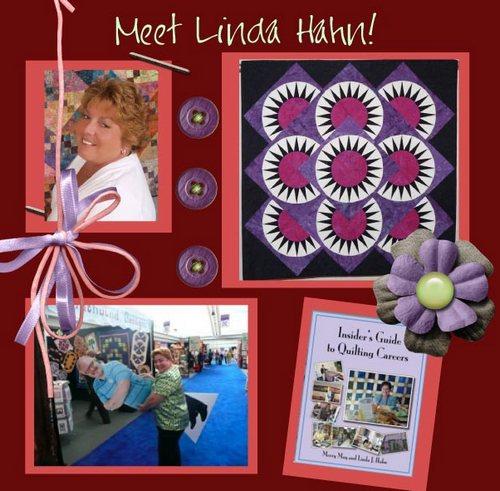 Linda hahn button