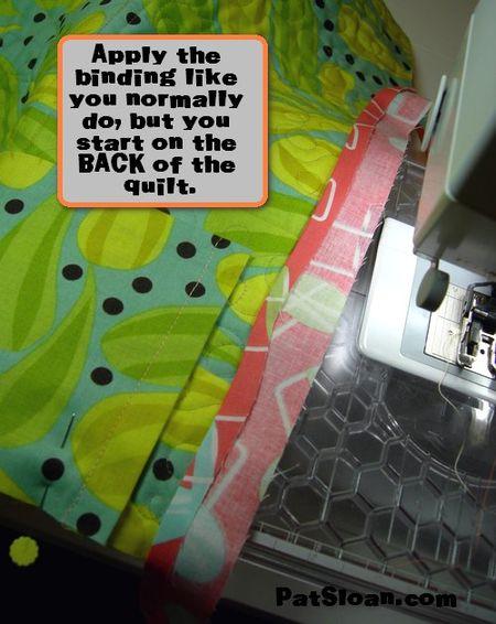 Pat sloan machine binding tut 2