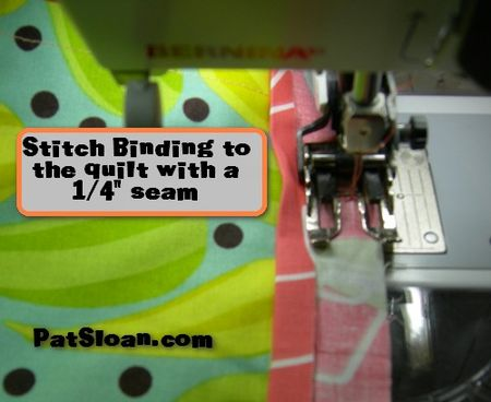 Pat sloan machine binding tut 4x