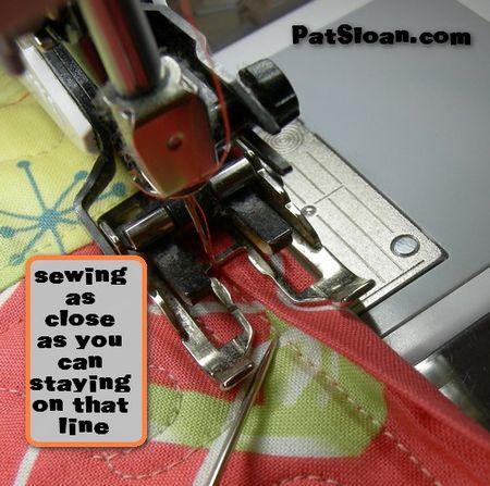 Pat sloan machine binding tut 9