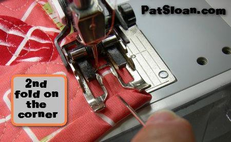 Pat sloan machine binding tut 11