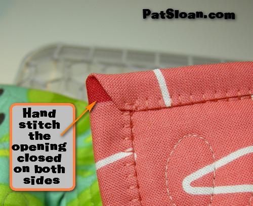 Pat Sloan's QuiltersHome: Pat Sloan Machine Binding tutorial : binding on a quilt - Adamdwight.com