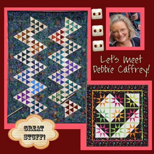 Debbie Caffrey button