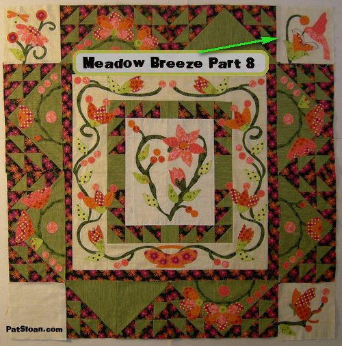 Meadow breeze 8 whole top with writing