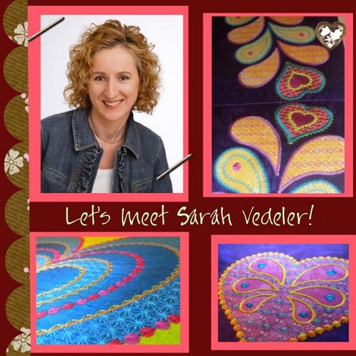 Sarah Vedeler guest button