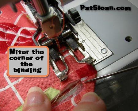 Pat sloan machine binding tut 10