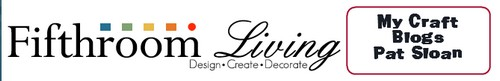 Pat sloan fifthroom craft blog banner