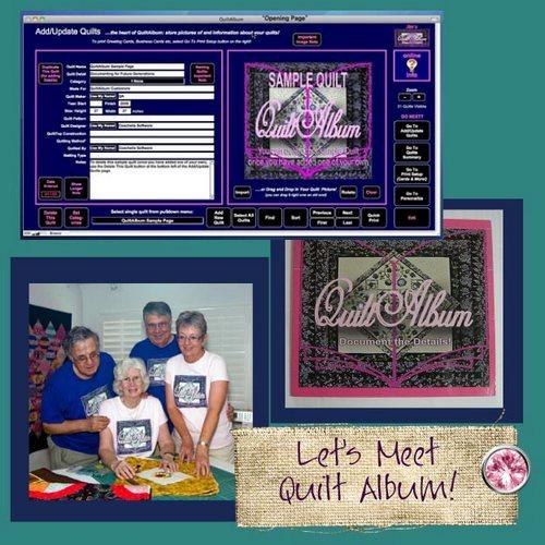 Pat sloan quilt album guest button