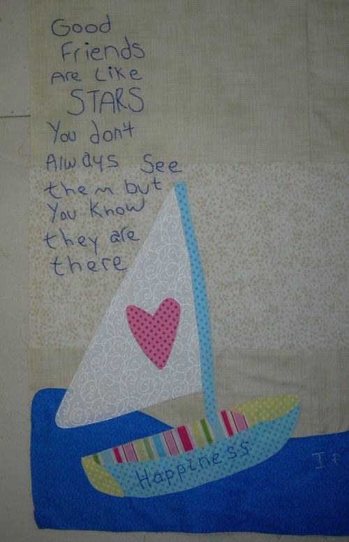 Pat Sloan Happiness Key part 2 sailboat close