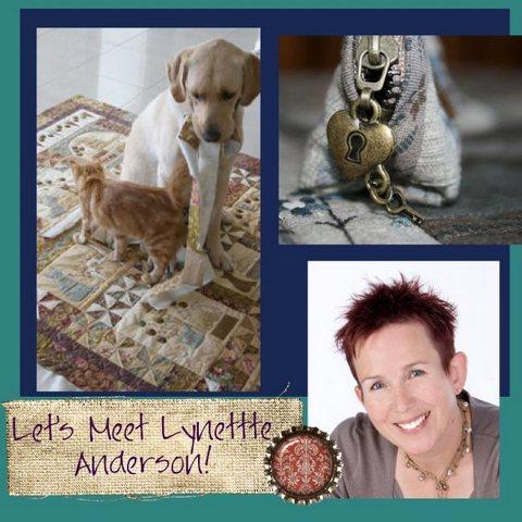 Pat sloan creative talk radio Lynette Anderson guest