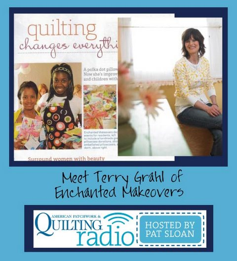 Pat Sloan   American Patchwork and Quilting radio Terry Grahl guest