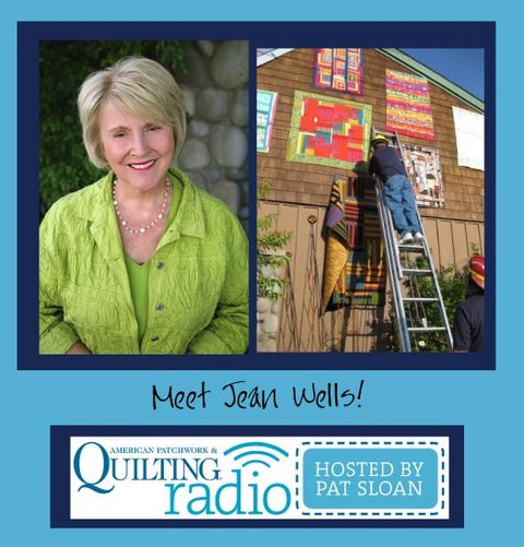 Pat Sloan American Patchwork and Quilting radio Jean Wells guest