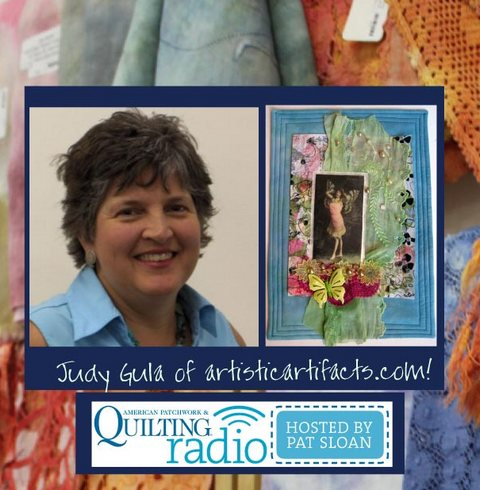 Pat Sloan American Patchwork and Quilting radio Judy Gula guest