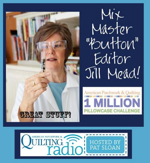 Pat Sloan American Patchwork and Quilting radio Jill Mead guest