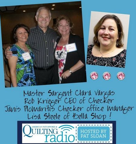 Pat Sloan American Patchwork and Quilting radio Claras Calling2 guest
