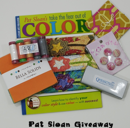 Pat Sloan for Sew Mama Sew Giveaway