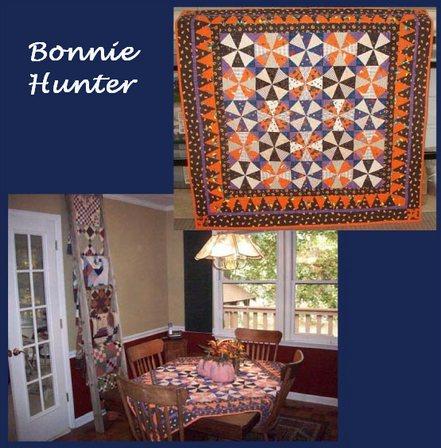 Bonnie hunter halloween quilt button