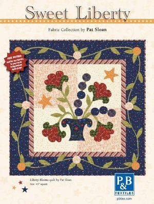 Pat sloan bella blooms quilt
