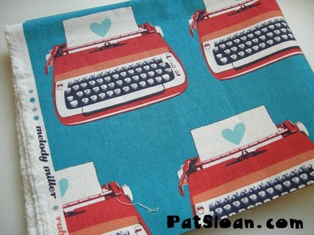 Pat sloan typewriter love