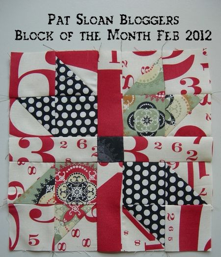 Pat sloan blogger block a month Feb