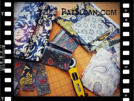 Pat sloan fabric pile