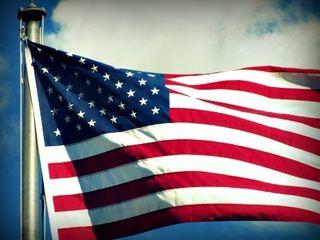 Sloan memorial day Flag