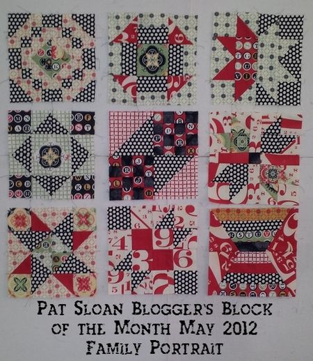 Pat sloan all the blocks thru may