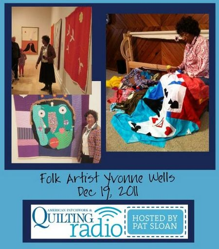 Pat Sloan American Patchwork and Quilting radio Yvonne Wells guest