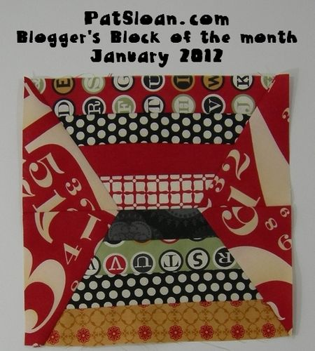 Pat sloan blogger block a month jan 2012