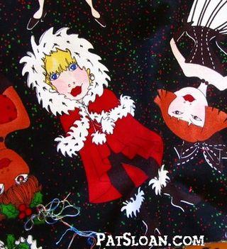 Pat sloan santa and stars 4
