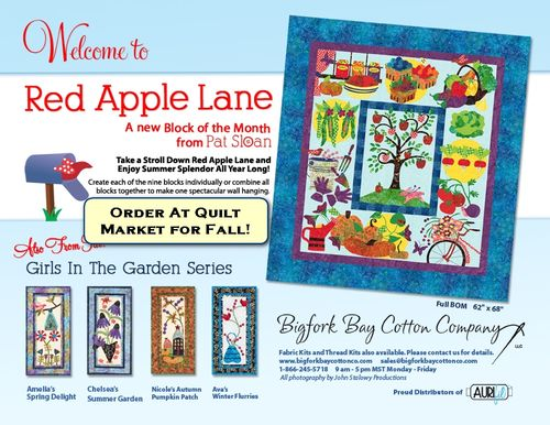 Pat Sloan Red Apple Lane Spring2012Flyer order