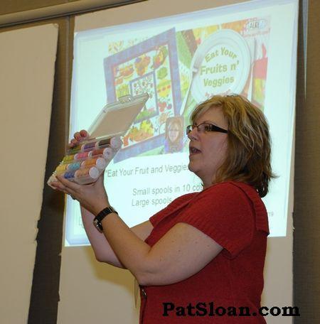 Pat sloan aurifil presentation