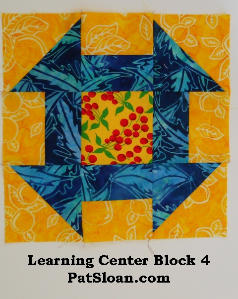 Pat sloan LC block 4
