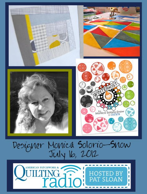 Pat Sloan American Patchwork and Quilting radio Pam Vieira-McGinnis guest