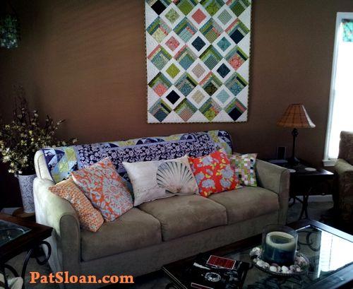 Pat sloan living room