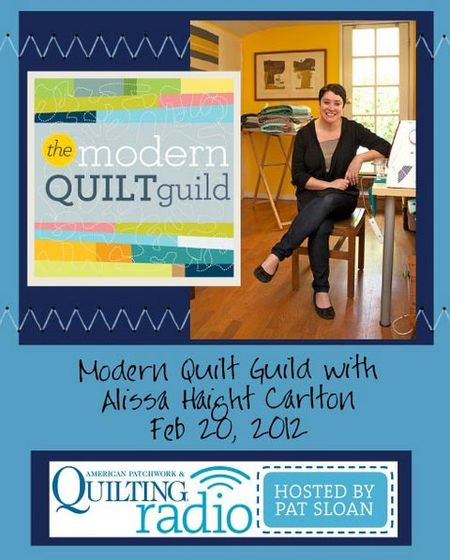 Pat Sloan American Patchwork and Quilting radio Alissa Haight Carlton guest