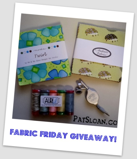 Pat sloan Fabric friday giveaway1