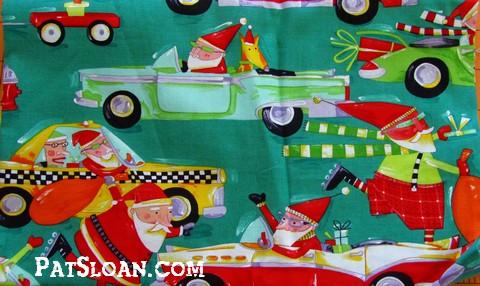 Pat sloan santa and stars 5