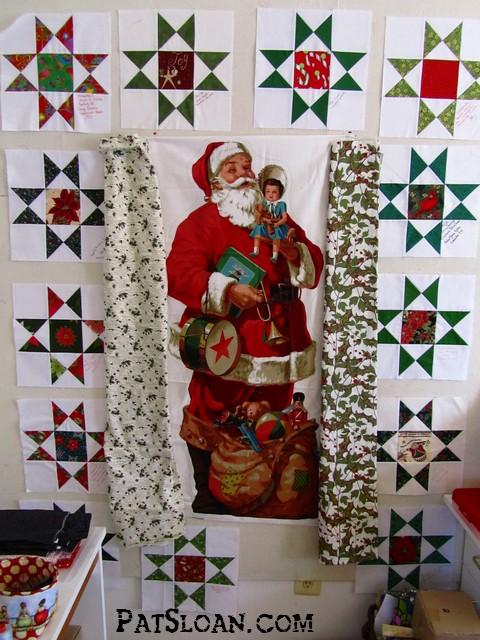 Pat sloan santa and stars 6