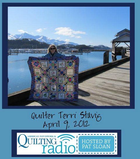 Pat Sloan American Patchwork and Quilting radio Terri Stavig guest