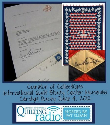 Pat Sloan American Patchwork and Quilting radio QSC guest pic