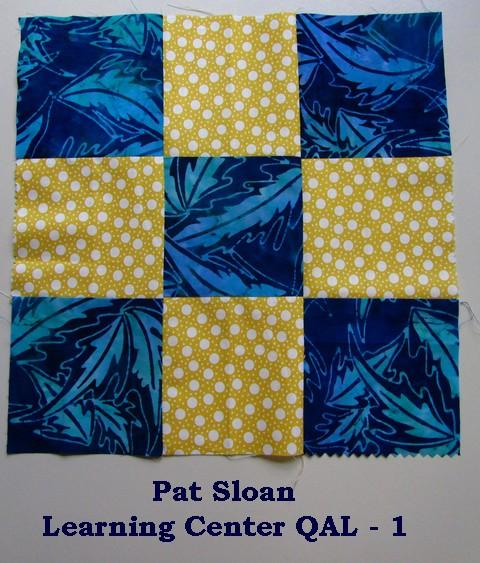 Pat sloan LC block 1