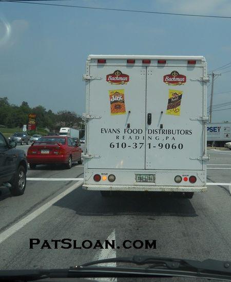 Pat sloan june delivery truck